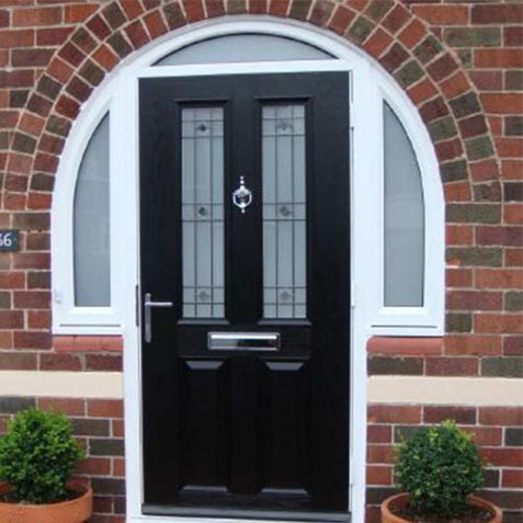 composite-doors arch top fanlight frame
