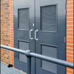 steel security-double-doors